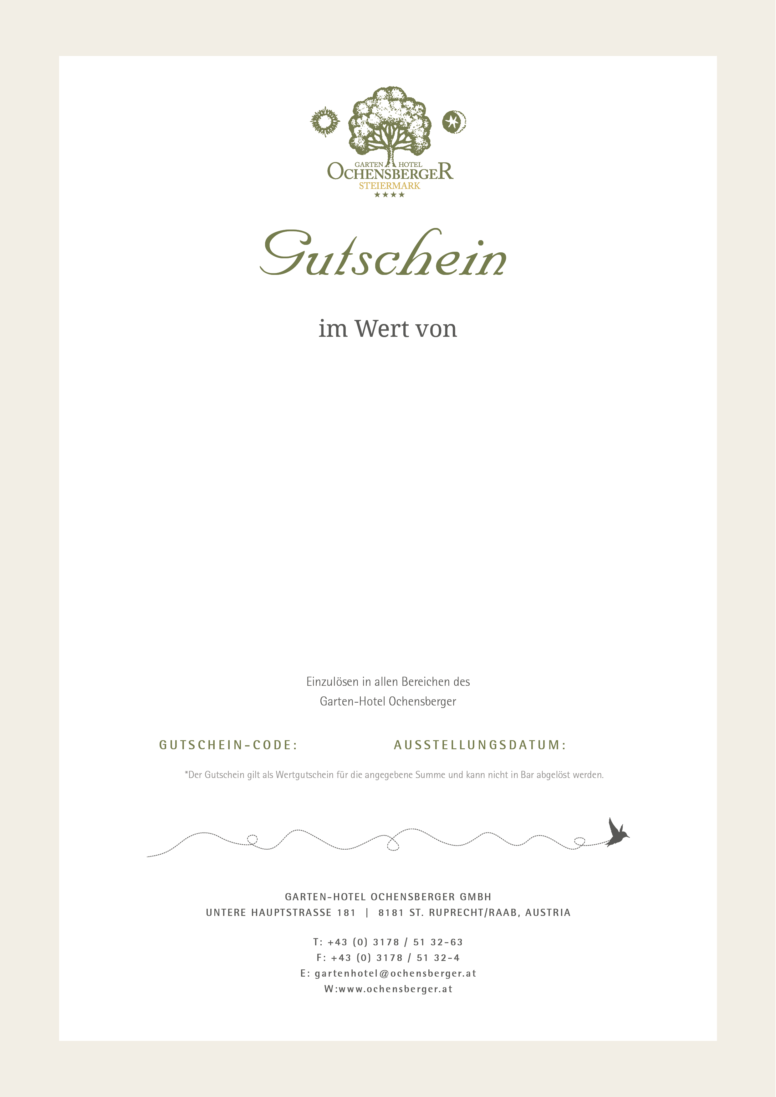 Gutschein Motiv 3